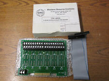 NEW NOS Western Reserve Controls 1781-A6QA 6 Quad Module Mounting Board