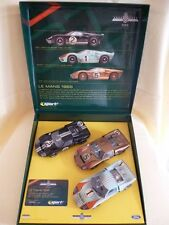 Scalextric UK  C2529A Ford Gt40 1966 Le Mans 3 Car Set Goodwood Edición Limitada