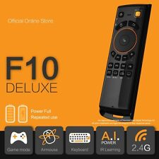 *NEW YEAR SALE* F10 Deluxe Fly Air Mouse Keyboard Remote for Android TV Box KODI