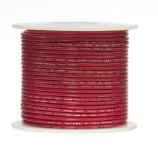 """18 AWG Gauge Solid Hook Up Wire Red 100 ft 0.0403"""" UL1007 300 Volts"""