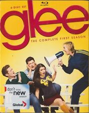 Glee: The Complete First Season (Blu-ray Disc, 2010, 4-Disc Set) BRAND NEW
