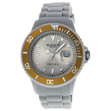 Madison Candy Time XL Creme Brulee Mens Watch G4167-09-1