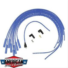 Zündkabel Set Universal Blau ACCEL 4038B hot blue 8mm Ford Mopar Hot Rod Chevy