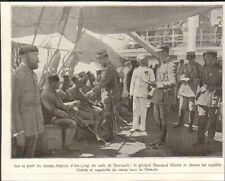 LIBAN LEBANON BEYROUTH BEIRUT RAPATRIES DE CESAREE GENERAL GOURAUD IMAGE 1921