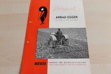 144611) Rabewerk - Anbau-Eggen für Schlepper - Prospekt 01/1957