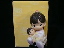 ya Precious Moments-Girl Holding Doll-Jesus Loves Me-Latino/Hispanic-VERY RARE