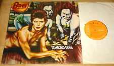 DAVID BOWIE DIAMOND DOGS ORANGE RCA A1 B1 UK 1ST PRESS LP 1974 MATT GATEFOLD