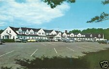 Original Vintage 1950s-60s PC- Manchester Country Club- Manchester NH- Old Cars