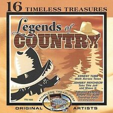 Freddy Fender, Bobby Bare, Razzy, 16 Timeless Treasures: Legends of Country, Exc
