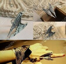 Gothic Emo Punk Bat Angel Wings Finger Ring Hot Fashion for Women Girls Jewelry