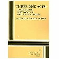 Three One-Acts by David Lindsay-Abaire - Acting Edition by David Lindsay-Abaire