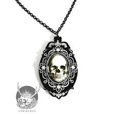 Necklace Collier Curiology Skull Cameo Crâne Camée Baroque Star Gothic Gothique