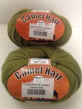Lana Gatto Camel Yarn 5409 Italy 2 Skeins