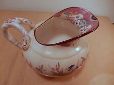 Pot lait service thé porcelaine XIX Sarreguemines décor Minton 216 19 siecle