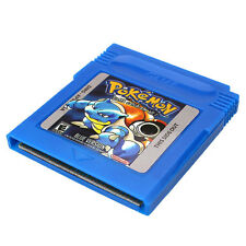 Pokemon GBC Game Card Game Boy Advance GB GBA SP Game Console Blue Gifts