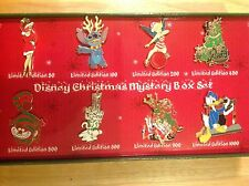 Disneyshopping.com Christmas 2008 World of Disney Mystery Complete Pin Set LE50