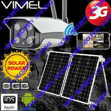 Farm Surveillance 3G Camera Home Solar Security System GSM Wireless Alarm CCTV