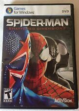 Spider-Man: Shattered Dimensions  PC Game Brand New Factory Sealed