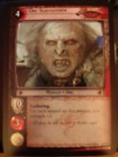 Lord of the Rings CCG Mt. Doom 10R95 Orc Slaughterer FOIL MINT LOTR TCG