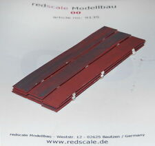Redscale 9135 - 3 x 3 Flat Iron Plates Stacked - Wagon Load 00 Gauge 1st Post