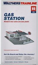 HO Scale Walthers Trainline 931-920 Gas Station Building Kit