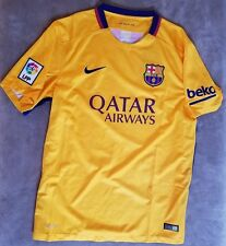NIKE Barcelona Jersey FC Home Kit Shirt NEW Messi Team NWT Soccer Football