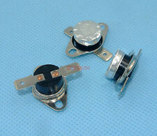 2pcs Temperature Switch 10°C NO Normally Open Bimetal disc thermostat KSD301