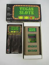 Vintage Vegas Slots Game Cartridge 4975 for Microvision