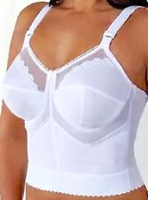 Goddess Beige Long Line Wire Free Soft Cup Bra Bustier 48B 1304  NWT