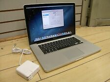 "Apple MacBook Pro 15"" Laptop 2.2Ghz Intel Core i7 4GB 750GB HDD READ DESCRIPTION"