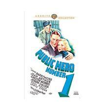 Public Hero Number 1 DVD 1935 Lionel Barrymore, Jean Arthur, Chester Morris