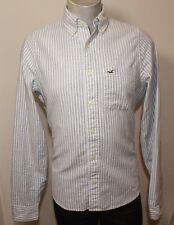 Hollister Uomo Button Down Collare pesante Camicia in cotone medio