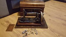 Antique Princess Hand Sewing Machine Working