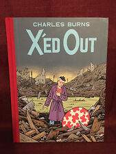 X'ed Out Hardcover Charles Burns HC