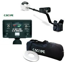 Metal Detector C.Scope CS 990 XD - CScope + Cover Mount plate + Bag Transport