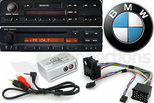 CTVBMX002 BMW 5 Series AUX interface adapter 1996-2001 E39 Business radio iPhone