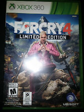 Xbox 360 Far Cry 4 Limited Edition Game |BRAND NEW FACTORY SEALED Xbox 360
