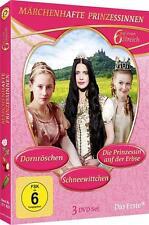 Märchenhafte Prinzessinnen (2015) - 6 auf einem Streich - DVD Box - Neu & Ovp .