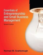 Essentials of Entrepreneurship and Small Business Management, Scarborough, 7th