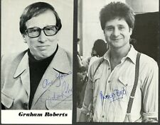 Two BRITISH ACTORS Signed Photos