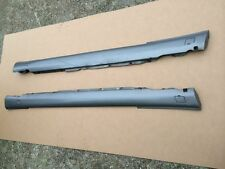 MERCEDES SEC W126 500 560 SIDE SKIRTS PAIR IN GREY
