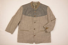 Trachten Julius Lang Jacket Chest 50 Hunting Loden Mens Wool German Men Austrian