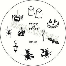 Newly BORN PRETTY BP81 Halloween Witch Nail Art Stamping Template Image Plate