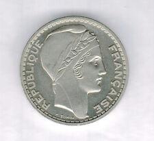 FRANCE - PIEFORT en NICKEL - ESSAI DE 20 FRANCS TURIN 1945.poids:20,65 grs ø....