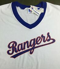 True Vintage 80s 90s NOS Texas Rangers MLB Baseball Russell Athletic T-Shirt XXL