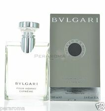 Extreme by Bvlgari for Men Eau De Toilette 3.4 OZ 100 ML Spray Green Box