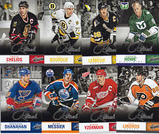 13-14 PANINI BOXING DAY ABSOLUTE RETIRED INSERT SET (8) Lemieux Howe Yzerman