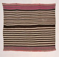 Incredible Navajo-like INDIAN BLANKET Original 19th c Wool Textile AYMARA TM9820