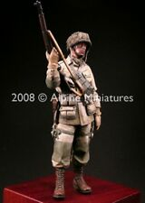 Alpine Miniatures 1:16 WWII US Paratrooper 82nd AA Airborne -Resin Figure #16004