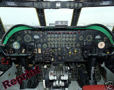 Photograph US Airforce B-52B Stratofortress Flightdeck  Aircraft 11x14